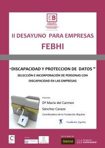 CARTEL II DESAYUNO DE EMPRESAS A3 2